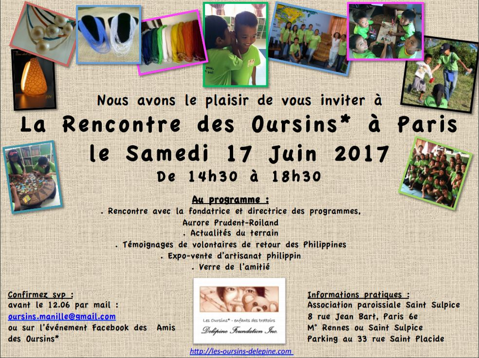 INVITATION - Les Oursins 17.06.17