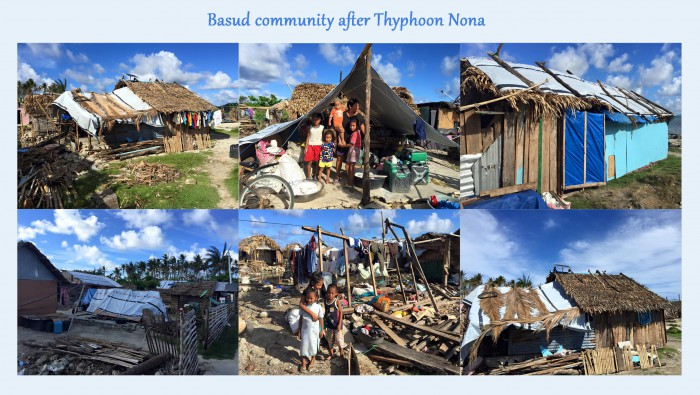 Basud community after Thyphoon Nona copy
