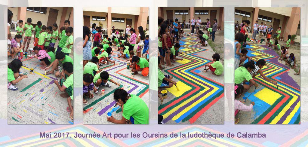 Journée Art à Calamba 2